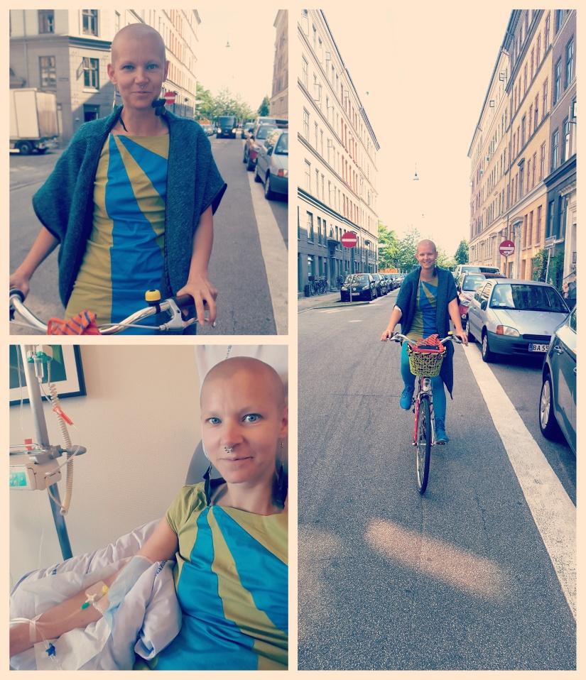Den eneste ting jeg elsker at lave er cykling;  Jeg er næsten kemisk på cykel næsten hver gang, og det giver mig en følelse af styrke, at jeg kan gøre dette.